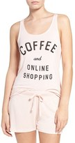 Junk Food Clothing Women's Coffee & Online Shopping Tank