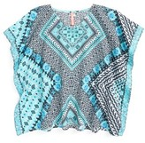 Seafolly Girl's Aztec Tapestry Cover-Up Caftan