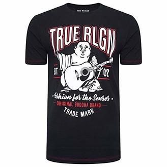True Religion Men's Buddha Logo Short Sleeve Tee