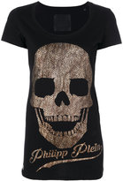 Philipp Plein Persyan Skull T-shirt - women - Cotton - M