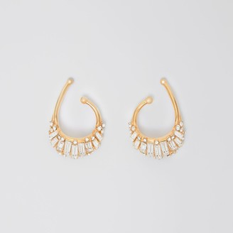 Burberry Crystal Gold-plated Ear Cuff
