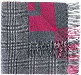N.Peal cashmere check scarf