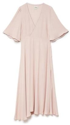 Ottod'Ame - Da 3566 Wrap Dress - Rose / IT 42 - UK 10