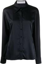Victoria Victoria Beckham long sleeve pointed collar shirt
