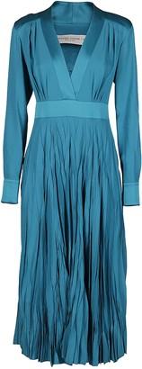 Golden Goose Turquoise Blue Adriana Dress