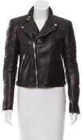 Ralph Lauren Black Label Leather Moto Jacket