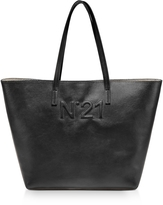 N°21 Black Leather Tote Bag