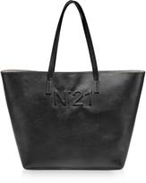N°21 Black Leather Tote Bag