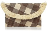 Kayu Gingham Envelope Clutch - 100% Exclusive