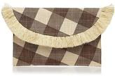 Kayu Gingham Envelope Clutch