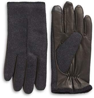 Tommy Hilfiger Mixed Media Touchscreen Gloves
