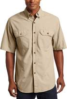 Carhartt Men's Fort Short Sleeve Shirt Lightweight Chambray Button Front
