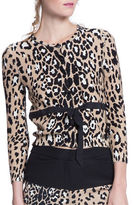 Tracy Reese Belted Knit Cardigan