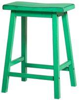 Acme Gaucho Antique Green Bar Stool (Set of 2)