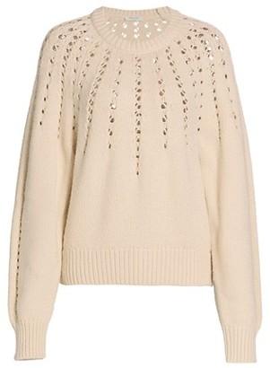 Rag & Bone Tiana Open-Knit Wool & Alpaca-Blend Sweater