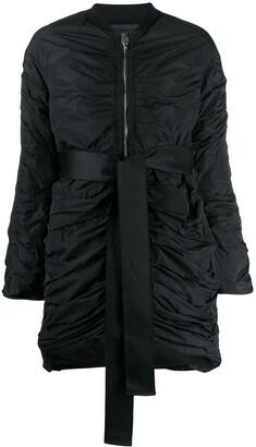 Giambattista Valli ruched coat