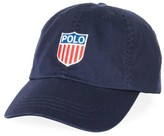 Polo Ralph Lauren Polo Embroidered Flag Logo Hat