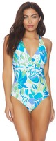 Athena Printed Criss Cross One Piece