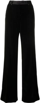 Paul Smith Satin Waistband Flared Trousers