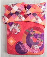 Desigual Romantic Patch Queen Bed Quilt Cover Set