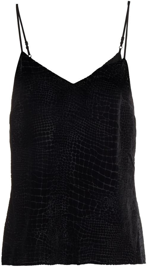 Frame Devore-velvet Camisole