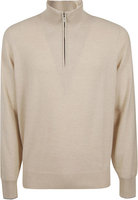 Brunello Cucinelli Zipped Sweater