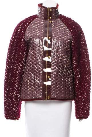 Alexander Wang Coated Woven Coat