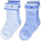 Tommy Hilfiger Baby Boys' TH Mouline 2P Calf Socks,pack of 2