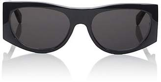 Celine Women's Rounded Rectangular Sunglasses - Black
