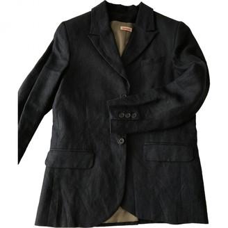 Cacharel Navy Linen Jacket for Women