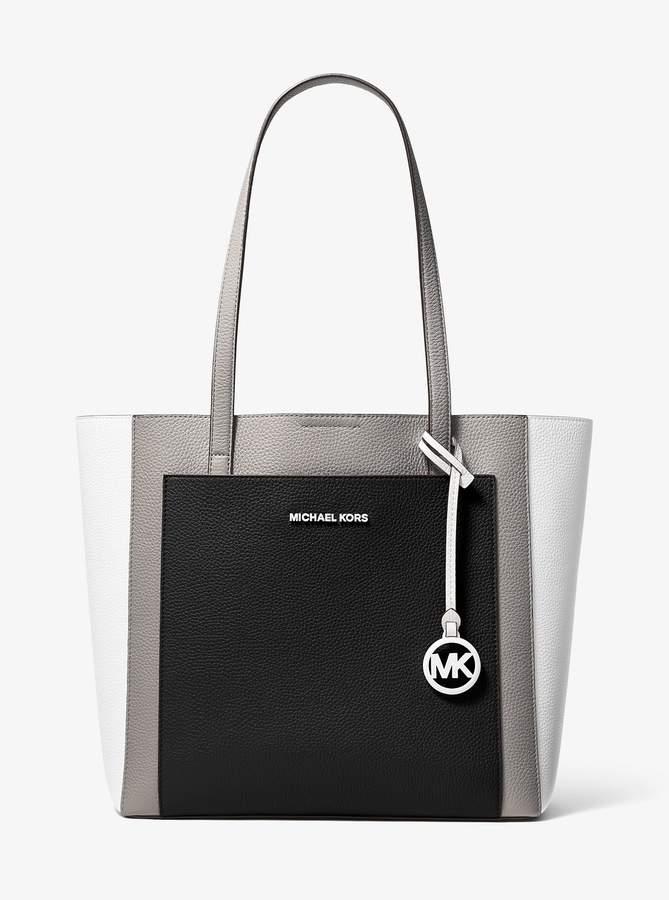 ac8499804c58 MICHAEL Michael Kors Black Pebble Leather Handbags - ShopStyle