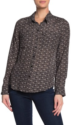 Lucky Brand Geogia Printed Blouse