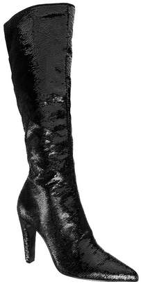 Nina Dixie Tall Shaft Sequins Boots Women Shoes