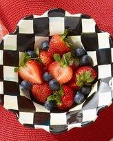 Mackenzie Childs MacKenzie-Childs Courtly Check Enamel Petal Breakfast Bowl