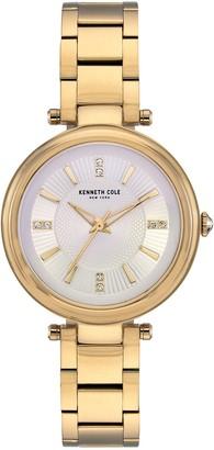 Kenneth Cole New York Women's Crystal Dial Bracelet Watch, 35mm