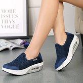 SuRe Rocker Sole Shoes Women Slip On Sport Casual Running Canvas Shoes