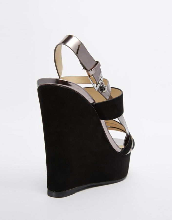 Blink Strappy Platform Wedge Sandals