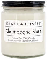 Craft + Foster Champagne Blush Scented Candle, 8 oz./226g