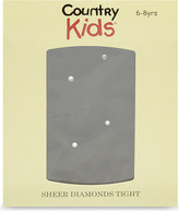 Country Kids Sheer diamond tights 3-11 years