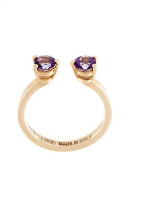 Delfina Delettrez 'Dots' midi fingertip ring