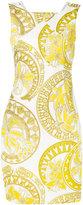 Versace print dress - women - Polyester/Spandex/Elastane - 44