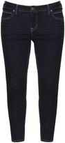 Silver Jeans Plus Size 5-pocket ankle grazer jeans