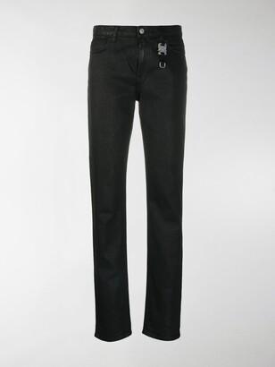 Alyx Black Straight-Leg Jeans