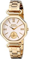 Vivienne Westwood Women's VV101GD Westbury Bracelet Analog Display Swiss Quartz Gold Watch