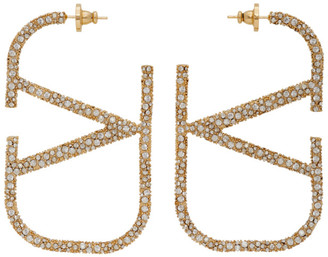 Valentino Gold Garavani VLogo Earrings