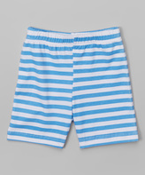 Flap Happy Sailor Stripe Hop Scotch Shorts - Infant Toddler & Girls