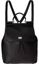 Dolce & Gabbana Tumbled Calfskin Sicily Backpack Backpack Bags