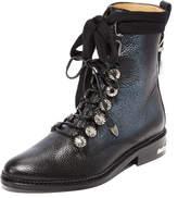 Toga Pulla Pebbled Combat Boots