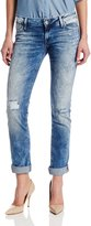 Mavi Jeans Women's Emma Slim Boyfriend Jean in Painted