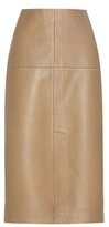 By Malene Birger Ridi Leather Pencil Skirt